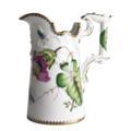Antique Pitcher/Vase with Pink Flower