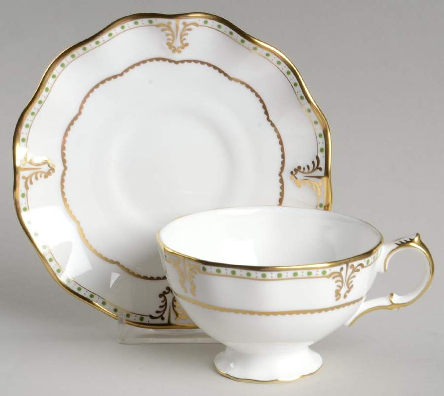 Elizabeth Green Tea Saucer